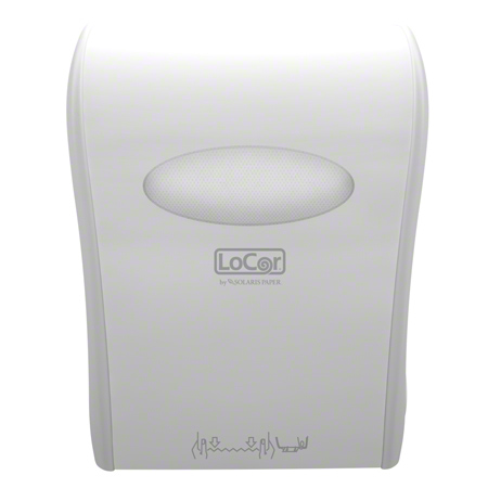 LoCor® Mechanical Hard Wound Towel Dispenser - White