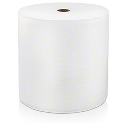 "LoCor® Premium Hard Wound White Roll Towel - 7"" x 600'"