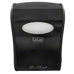 LoCor® Mechanical Hard Wound Towel Dispenser - Black