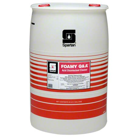 Spartan Foamy Q & A® Acid Disinfectant Cleaner - 55 Gal.