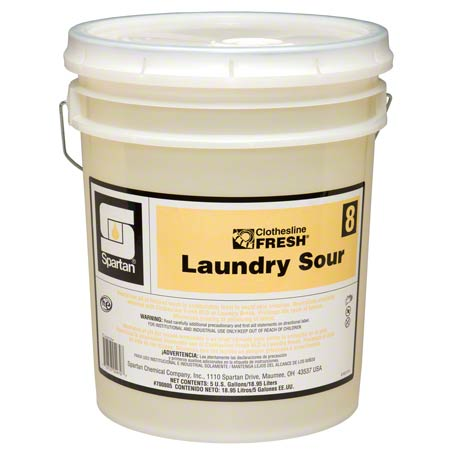 Spartan Clothesline Fresh™ Laundry Sour #8 - 5 Gal.