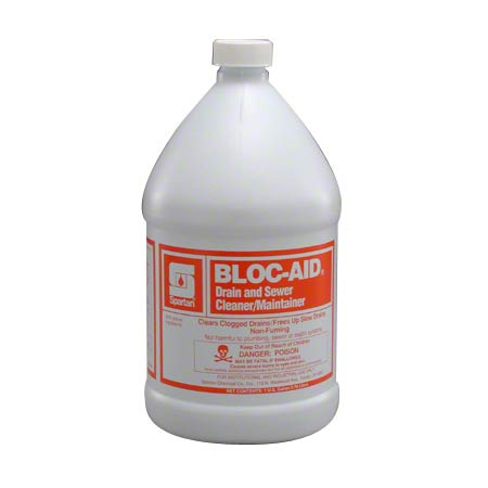 Spartan Bloc-Aid® Drain Cleaner & Maintainer - Gal.