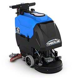 """Timberline S17 Traction Walk-Behind Small Floor Scrubber - 17"""" Disk"""