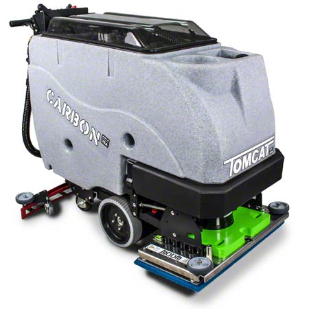 """Tomcat® Carbon Traction Drive Scrubber - 24"""", EDGE"""