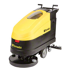 "Tornado® EZ Floorkeeper® Automatic Scrubber - 20"", Traction"
