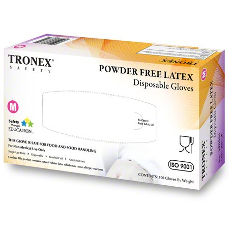 Tronex 3667 Natural Powder-Free Latex Glove - Small