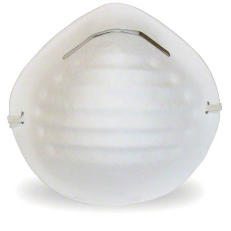 Safety Zone White Cone Dust Mask
