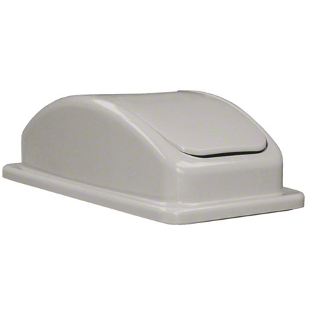 Update Space Saver Trash Can Lid - Grey