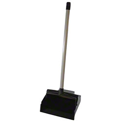 Impact® Plastic Lobby Dust Pan w/Aluminum Handle