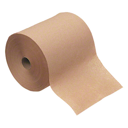 "ACI Hardwound Roll Hand Towel - 8"" x 800', Kraft"