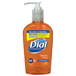 Dial® Gold Antimicrobial Liquid Hand Soap - 7.5 oz. Pump