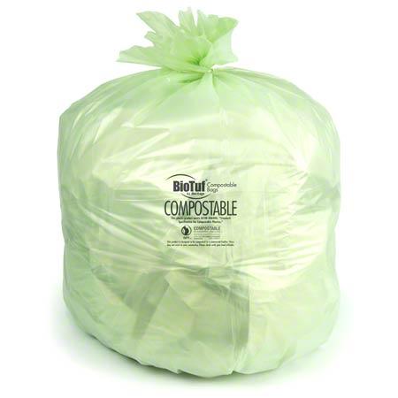 Heritage Bag BioTuf® Compostable Bag - 47 x 60, 1.0 mil