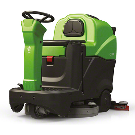"""IPC Eagle CT80 Rider Scrubber - 24"""", 240AH, External Charger"""