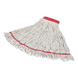 "Rubbermaid® Swinger Loop® Wet Mop - Large, 5"", White"