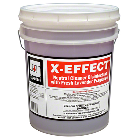 Spartan X-Effect™ Neutral Cleaner Disinfectant - 5 Gal.