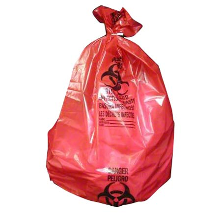 Noramco™ Red Infectious Waste Bag - 40 x 47, 1.30 ga.