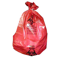 Noramco™ Red Infectious Waste Bag - 30 x 37, 1.30 ga.