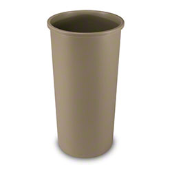 Rubbermaid® Untouchable® Round Container -22 Gal., Beige