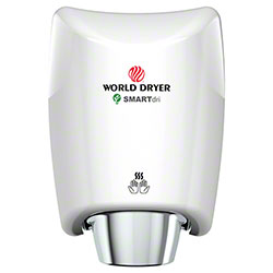World Dryer SMARTdri™ K-974 Hand Dryer - Aluminum, White