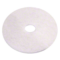 Americo White Polish Floor Pad - 7 3/4""