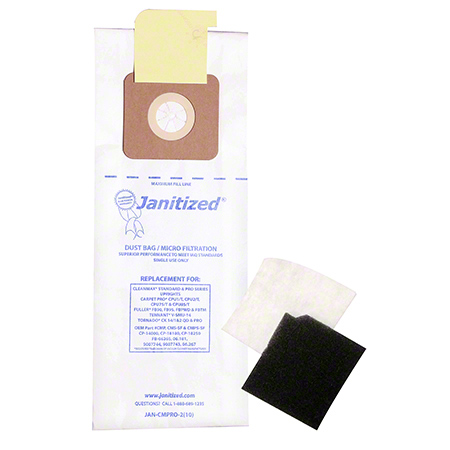 Janitized® 2-Ply Paper Meltblown Micro Filter For CleanMax