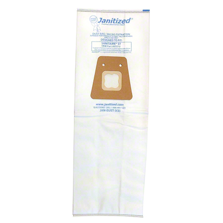 Janitized® 3 Ply High Efficiency Micro Filtration Bag