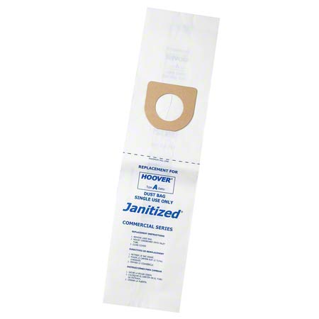 Janitized® 1 Ply Paper Bag For Hoover