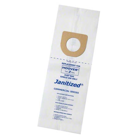 Janitized® Paper/Meltblown Micro Filter Bag For Hoover Z