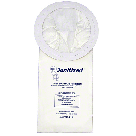 Janitized® 2-Ply Paper/Meltblown Micro Filter For ProTeam