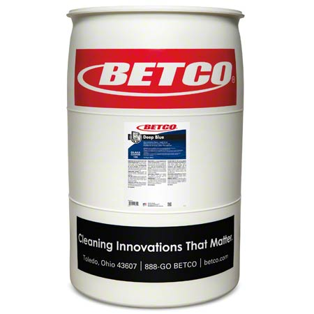 Betco® Deep Blue Glass & Surface Cleaner - 55 Gal. Drum