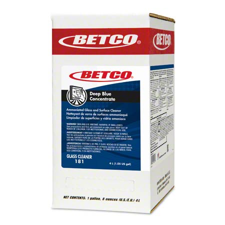 Betco® Deep Blue Concentrate - 4 L Box