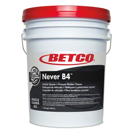 Betco® Never B4 Vehicle Cleaner - 5 Gal. Pail