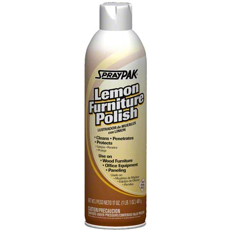 SprayPak® Furniture Polish - 17 oz.