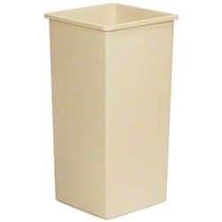 Continental Swingline™ Receptacle Base -32 Gal., Beige