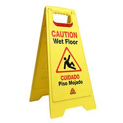 O Cedar® Flashing Floor Safety Sign
