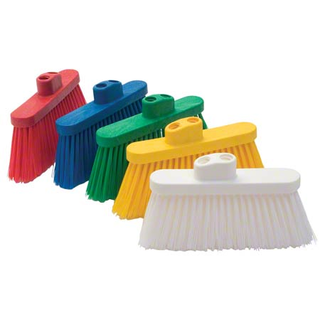 Malish PBT Color-Coded Angle Broom Head - Green