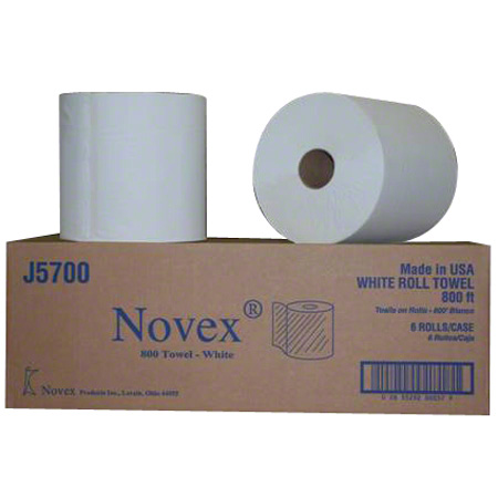 Novex Dispenser Roll Towel - 800', White