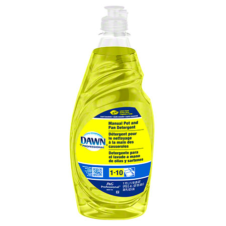 P&G Dawn® Manual Pot & Pan Detergent - 38 oz., Lemon Scent