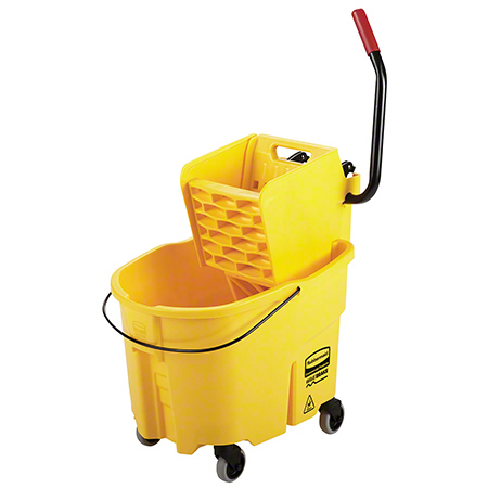 Rubbermaid® WaveBrake® Side Press Combo - 35 Qt.,Yellow
