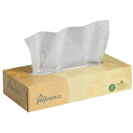 Georgia-Pacific Preference® 2 Ply Facial Tissue - 100 ct.