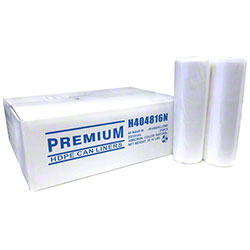 Allstate Natural HD Coreless Roll Liner - 40 x 48, 16 mic