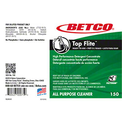 Betco® Top Flite™ All Purpose Cleaner Label Only