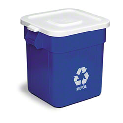 Continental Square Recycle Huskee Container - 32 Gal.