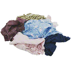 HOSPECO® Washed Colored Polo Rags - 25 lb.