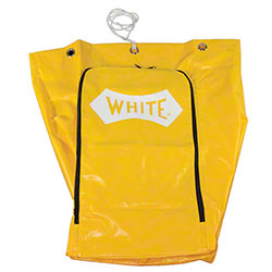Impact® 25 Gallon Yellow Synthetic Fabric Replacement Bag