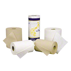 "Hard Roll Paper Towel - 8"" x 800', White"