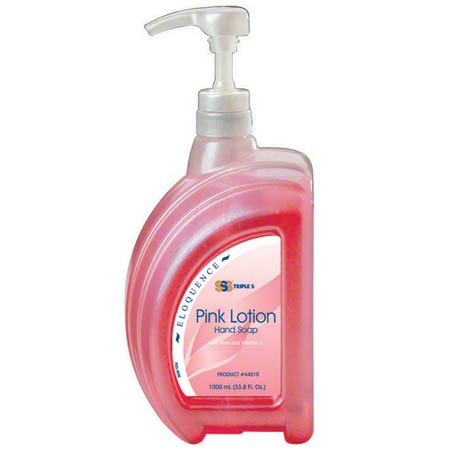 SSS® Eloquence Pink Lotion Soap Pump - 1000 mL