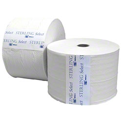 SSS® Sterling Select™ 2 Ply White Embossed Bath Tissue