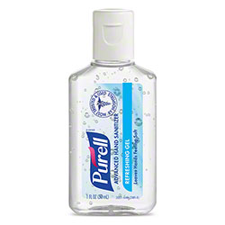 GOJO® Purell® Advanced Hand Sanitizer Refreshing Gel - 1 oz. Flip-Cap Bottle