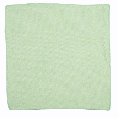Rubbermaid® Light Commercial Microfiber Cloth-16x16, Green